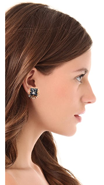 Holst + Lee Crystal Stud Earrings