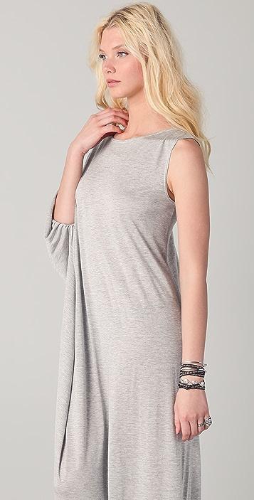 Holy Tee Cleo Single Sleeve Caftan Dress