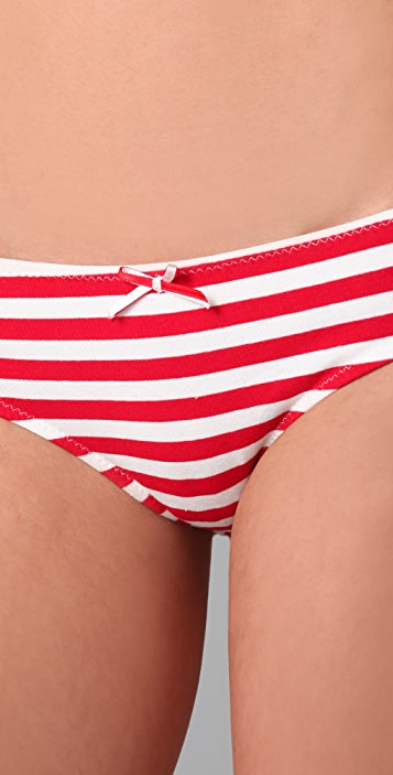 Honeydew Intimates Nautical Stripe Hipster