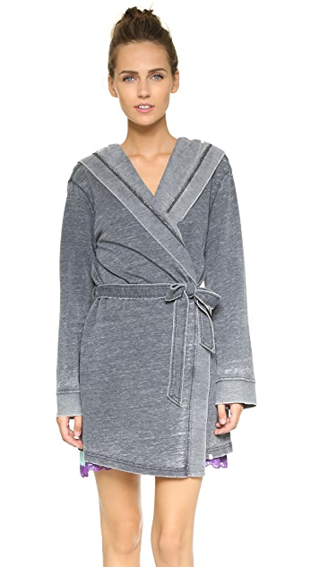 Honeydew Intimates Burnout French Terry Robe