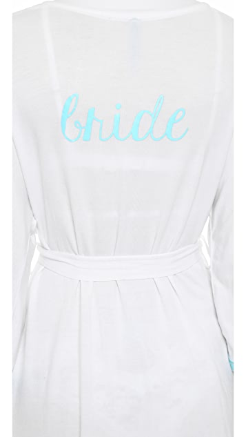 Honeydew Intimates All American Bride Robe