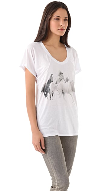 Horseworship Apparel We Run With The Arabians Tee
