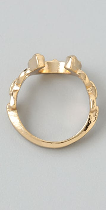 House of Harlow 1960 Horseshoe Stacking Ring