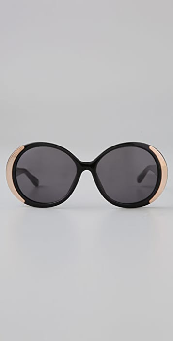 House of Harlow 1960 Retro Oversized Sunglasses