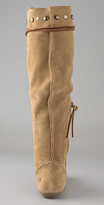 House of Harlow 1960 Morris Suede Moccasin Boots