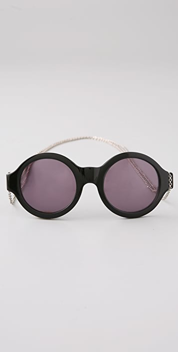 House of Harlow 1960 Olivia Sunglasses with Chain