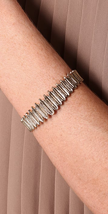 House of Harlow 1960 Small Feather Row Cuff