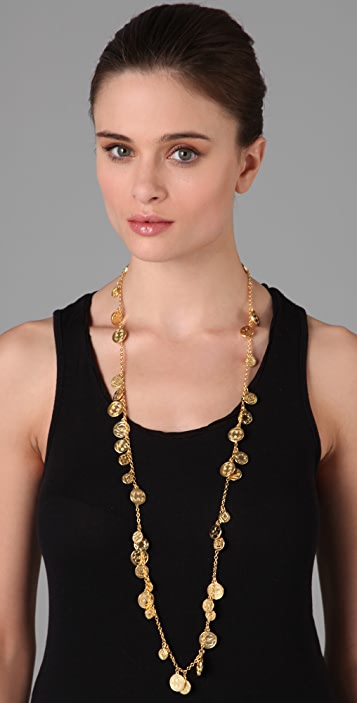 House of Harlow 1960 Long Coin Necklace