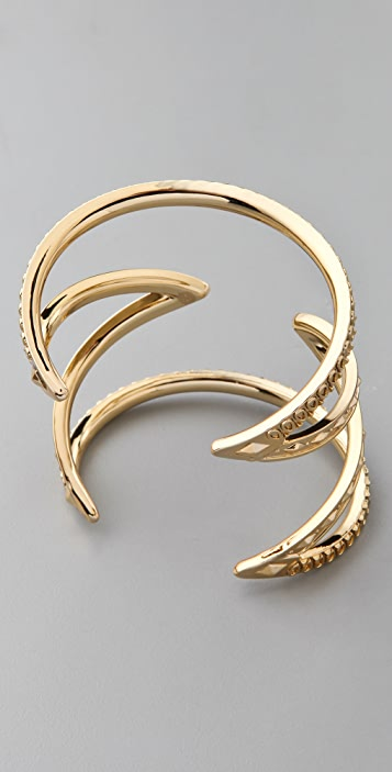 House of Harlow 1960 Textured Cutout Cuff