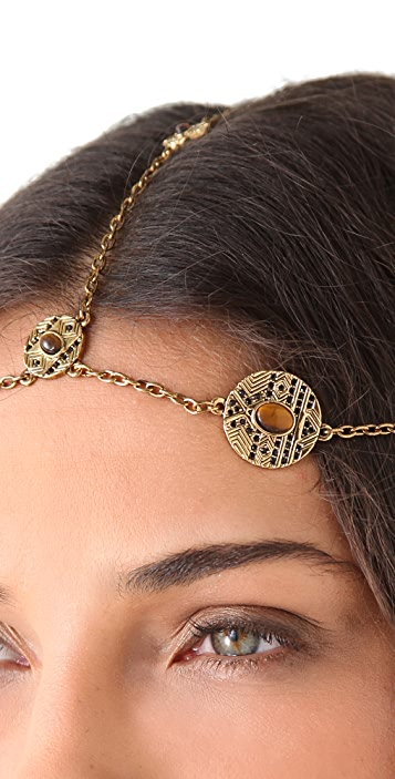 House of Harlow 1960 Coin Headpiece