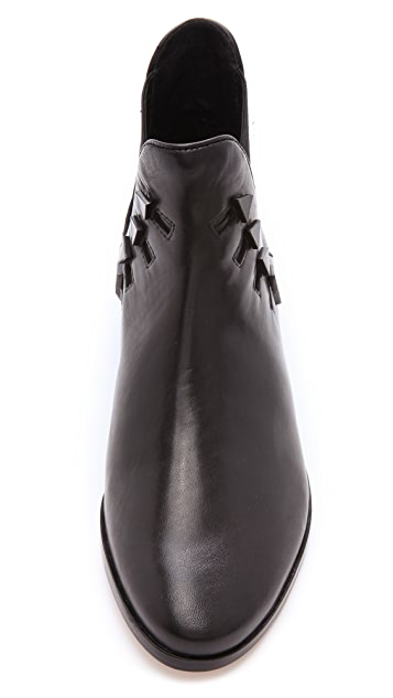 House of Harlow 1960 Beatrice Stud Booties