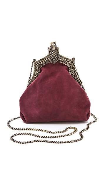House of Harlow 1960 Rey Suede Bag