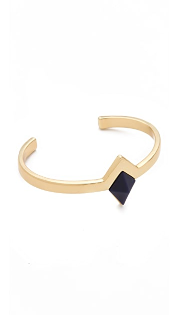House of Harlow 1960 Navy Triangle Cuff