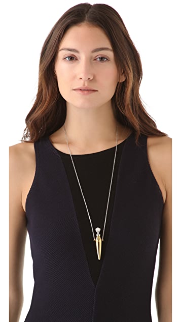 House of Harlow 1960 Orb Vial Necklace