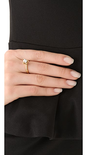 House of Harlow 1960 Orb Talon Ring