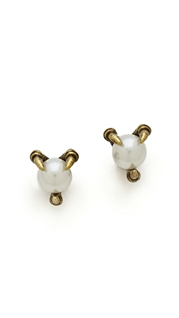 House of Harlow 1960 Talon Orb Stud Earrings