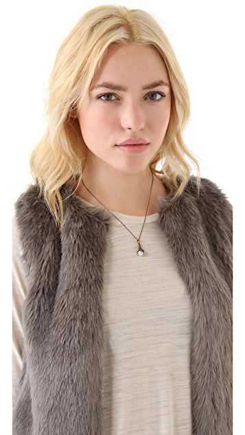 House of Harlow 1960 Talon Orb Necklace