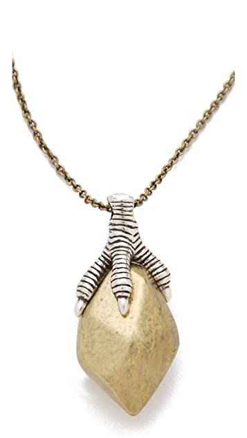 House of Harlow 1960 Stone Talon Necklace