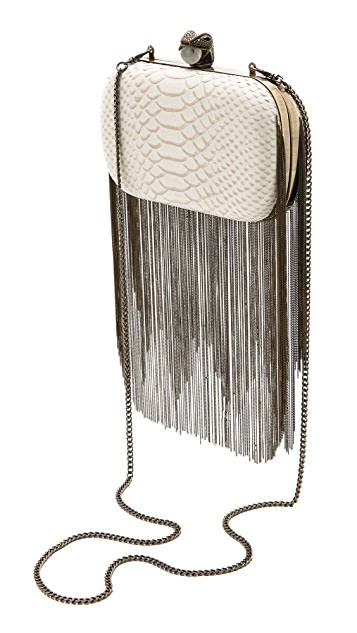 House of Harlow 1960 Jade Clutch