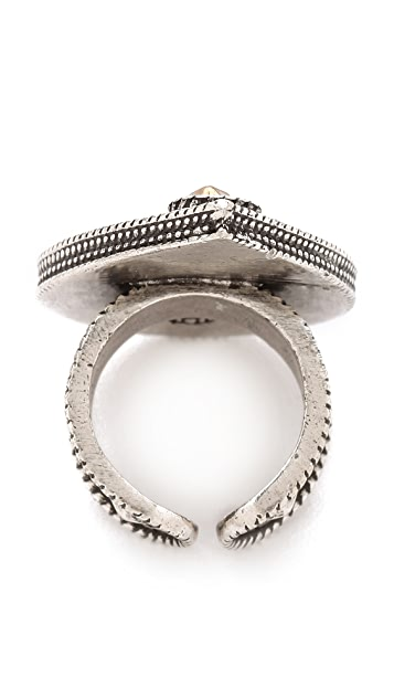 House of Harlow 1960 Desert Rain Ring