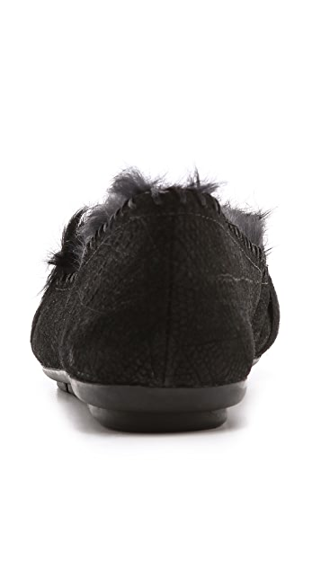 House of Harlow 1960 Macey Fur Lined Moccasins