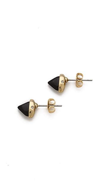 House of Harlow 1960 Rock Out Stud Earrings