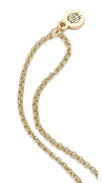 House of Harlow 1960 Kaleidoscope Fingerpick Necklace