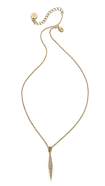 House of Harlow 1960 Sparkling Marquis Pendant Necklace