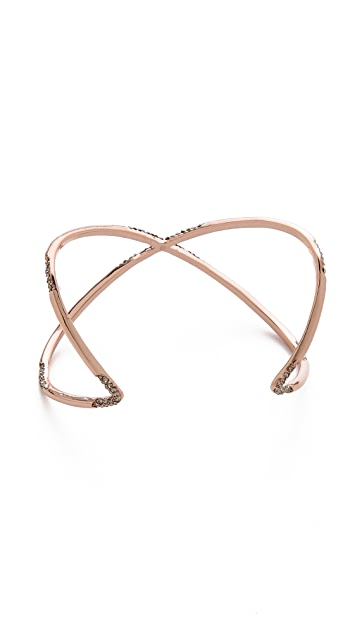 House of Harlow 1960 Sound Waves Cuff