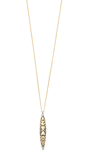 House of Harlow 1960 Tribal Totem Pendant Necklace