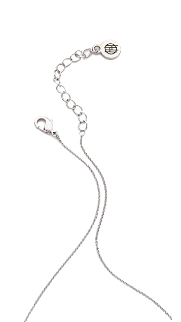 House of Harlow 1960 Cusco Crescent Pendant Necklace