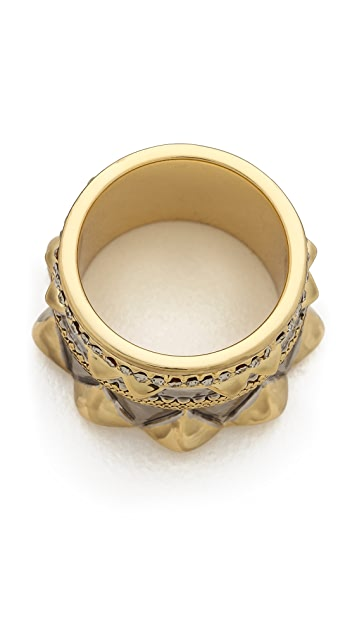 House of Harlow 1960 Conquistador's Crown Ring
