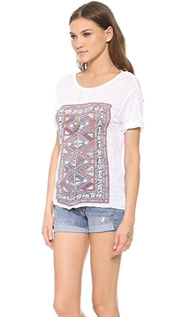 House of Harlow 1960 Paisley Tee