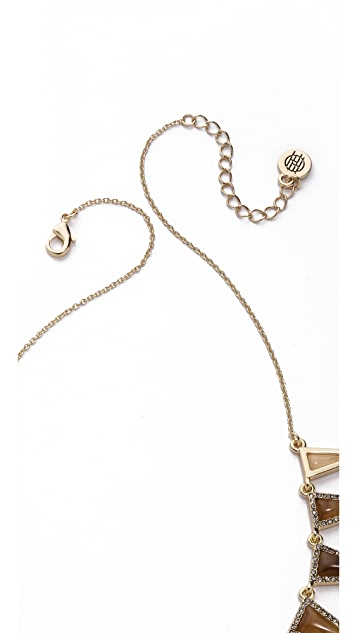 House of Harlow 1960 Echelon Collar Necklace