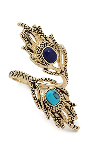 House of Harlow 1960 Eye of Wisdom Ring