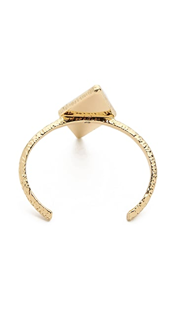 House of Harlow 1960 Isosceles Reflection Cuff Bracelet