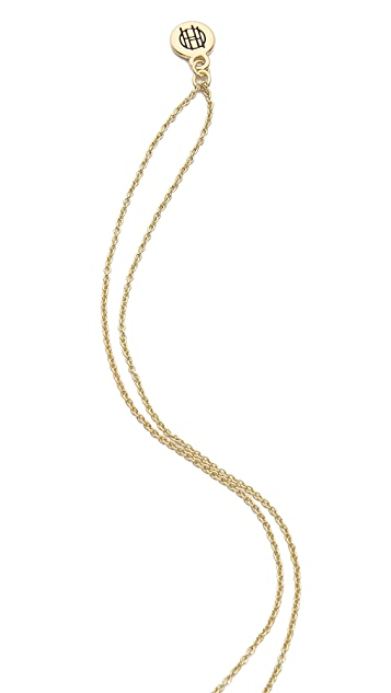 House of Harlow 1960 Delta Pendant Necklace