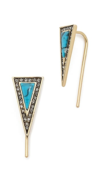 House of Harlow 1960 Acute Earrings