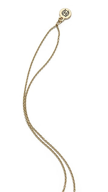 House of Harlow 1960 Elephant Prosperity Pendant Necklace