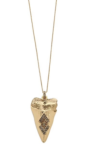House of Harlow 1960 Tribal Tooth Pendant Necklace