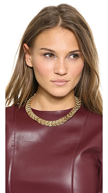 House of Harlow 1960 Sidewinding Collar Necklace