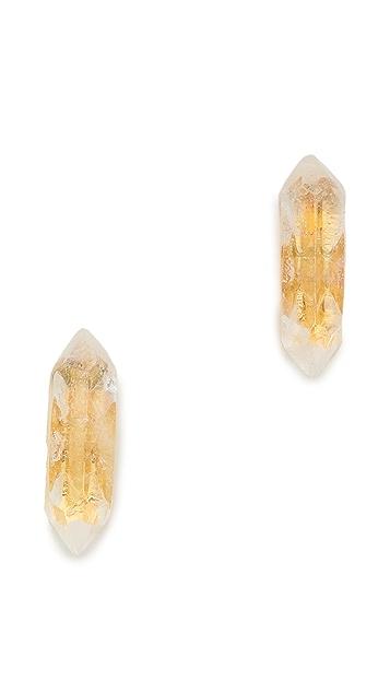 House of Harlow 1960 Stalagmite Stud Earrings