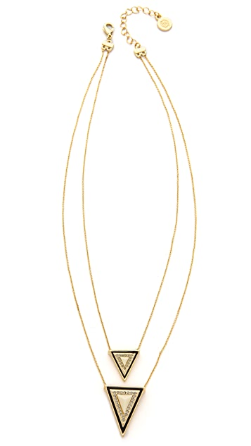 House of Harlow 1960 Triangle Necklace