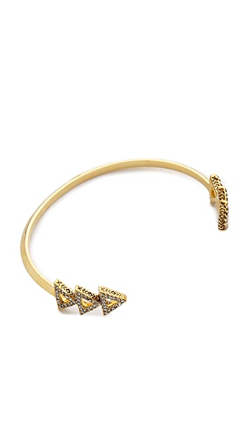 House of Harlow 1960 Tessallation Cuff Bracelet