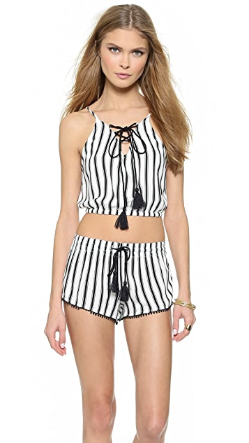 House of Harlow 1960 Rodeo Cropped Bubble Tank