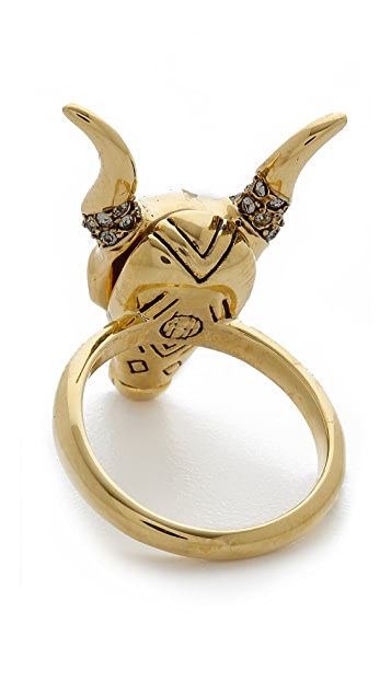 House of Harlow 1960 Turkana Ring
