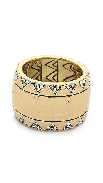 House of Harlow 1960 Safari Band Ring
