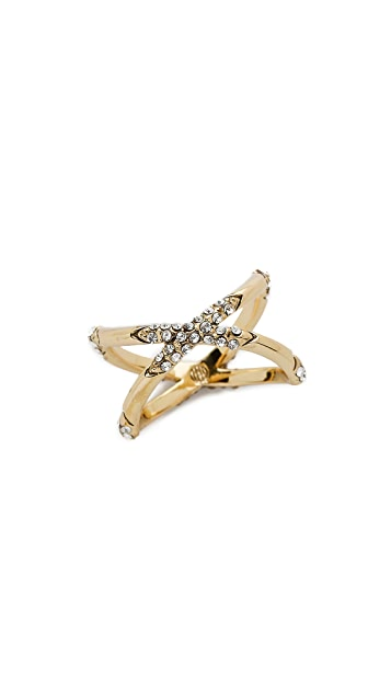 House of Harlow 1960 Sound Waves Ring