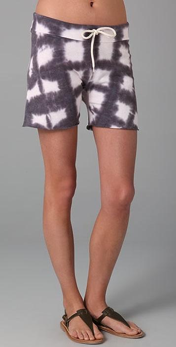 MONROW Tie Dye Vintage Shorts