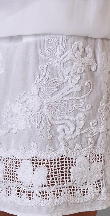 MONROW Crochet Tank Dress